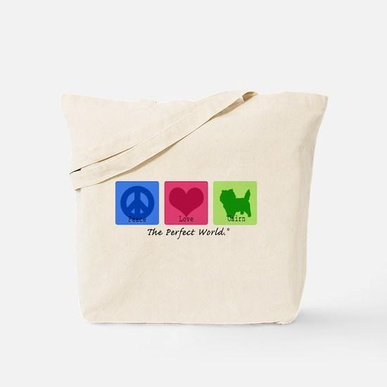 Peace Love Cairn Tote Bag