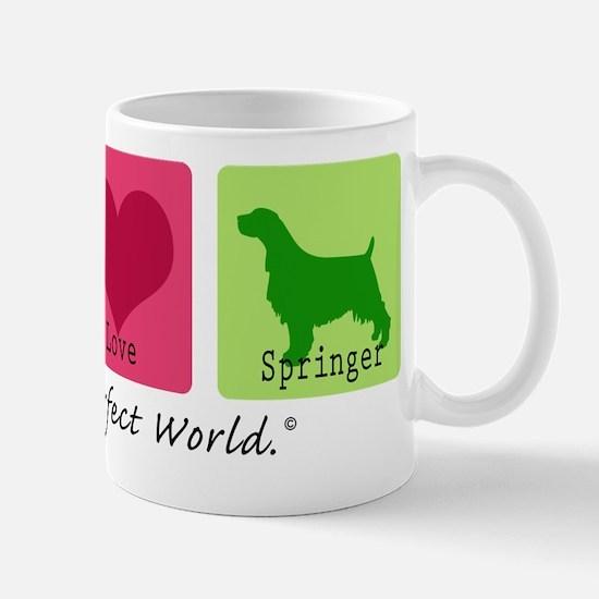 Peace Love Springer Mug