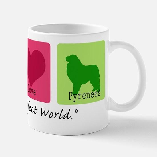 Peace Love Pyrenees Mug