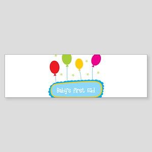 Baby's First Eid Bumper Sticker