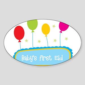 Baby's First Eid Sticker
