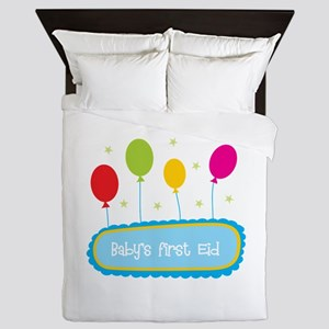 Baby's First Eid Queen Duvet