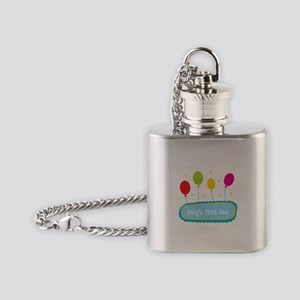 Baby's First Eid Flask Necklace