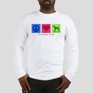 Peace Love Smooth Fox Long Sleeve T-Shirt