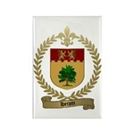 HERPIN Family Crest Rectangle Magnet