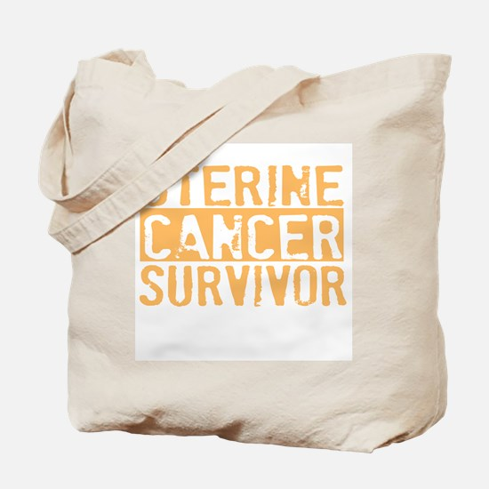 Proud Uterine Cancer Survivor Tote Bag