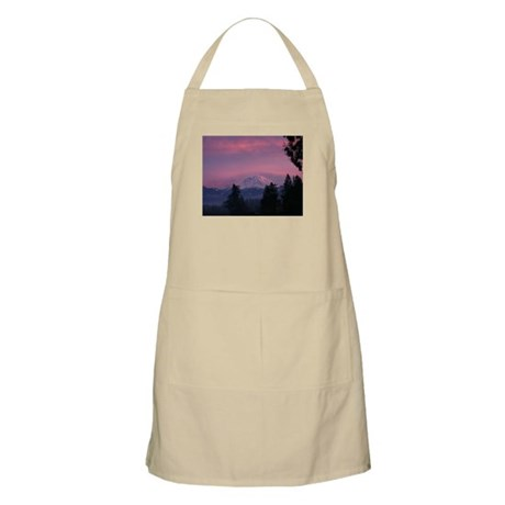Mt Rainier BBQ Apron