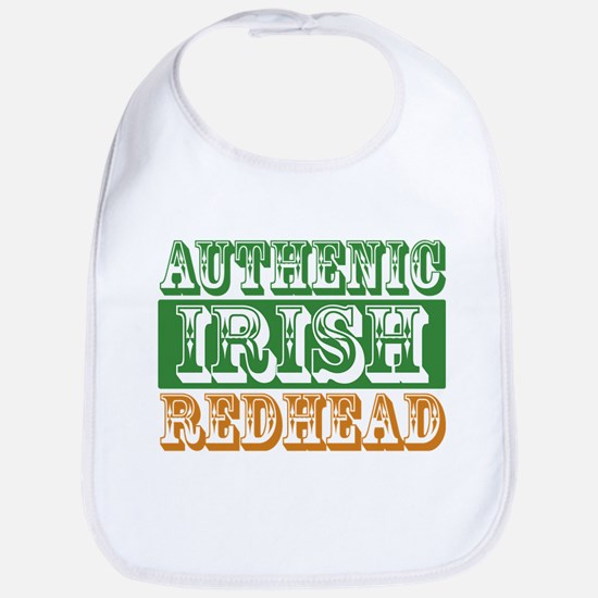 Authentic Irish Redhead Bib