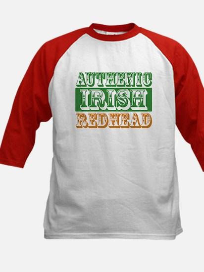 Authentic Irish Redhead Kids Baseball Jersey