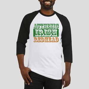 Authentic Irish Redhead Baseball Jersey