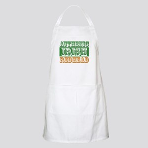Authentic Irish Redhead BBQ Apron