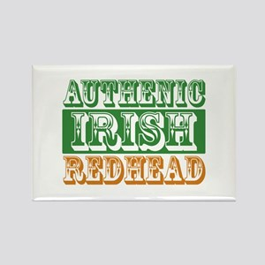 Authentic Irish Redhead Rectangle Magnet
