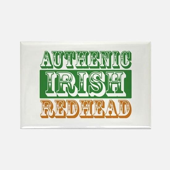 Authentic Irish Redhead Rectangle Magnet