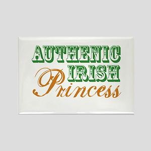 Authentic Irish Princess Rectangle Magnet