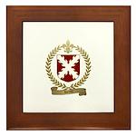 HERTEL Family Crest Framed Tile