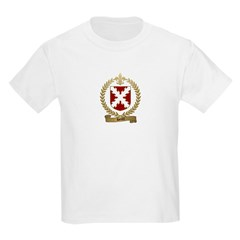 HERTEL Family Crest Kids T-Shirt