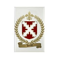 HERTEL Family Crest Rectangle Magnet