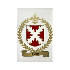HERTEL Family Crest Rectangle Magnet (10 pack)