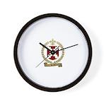 HERTEL Family Crest Wall Clock