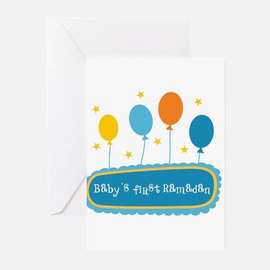 Baby's First Ramadan Greeting Cards