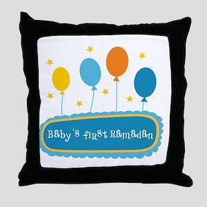 Baby's First Ramadan Throw Pillow