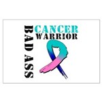 Cancer Warrior Large Poster