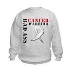 Bone Cancer Warrior Kids Sweatshirt
