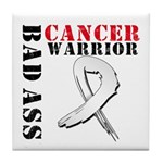 Bone Cancer Warrior Tile Coaster