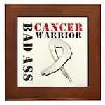 Bone Cancer Warrior Framed Tile