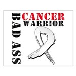 Bone Cancer Warrior Small Poster