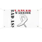 Bone Cancer Warrior Banner