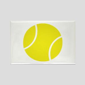 tennis ball Rectangle Magnet