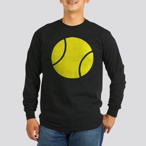 tennis ball Long Sleeve Dark T-Shirt