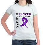 PancreaticCancer Warrior Jr. Ringer T-Shirt