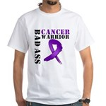 PancreaticCancer Warrior White T-Shirt