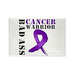PancreaticCancer Warrior Rectangle Magnet (10 pack