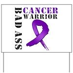 PancreaticCancer Warrior Yard Sign