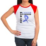Esophageal Cancer Warrior Women's Cap Sleeve T-Shi