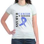 Esophageal Cancer Warrior Jr. Ringer T-Shirt