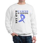 Esophageal Cancer Warrior Sweatshirt