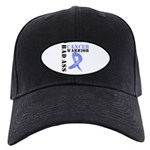 Esophageal Cancer Warrior Black Cap