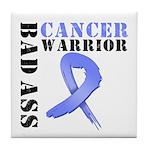Esophageal Cancer Warrior Tile Coaster