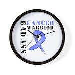 Esophageal Cancer Warrior Wall Clock