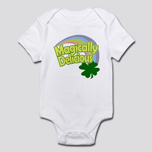 Magically Delicious Pastel Rainbow Infant Bodysuit