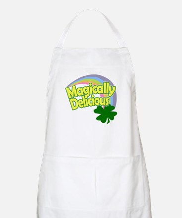 Magically Delicious Pastel Rainbow Apron