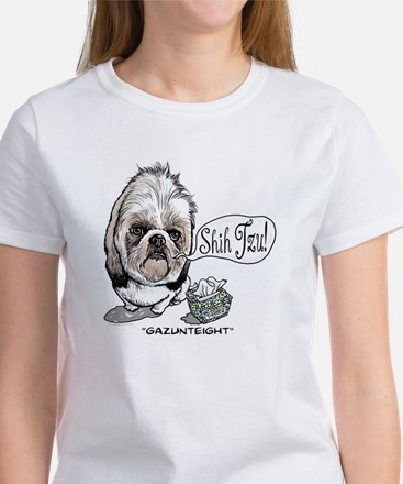 Cute Shih Tzu Women's T-Shirt