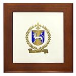 HURET Family Crest Framed Tile