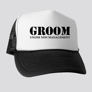 5b70a62cd43 Groom Under New Management Trucker Hat