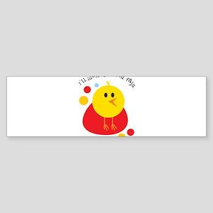 I'll Wake You For Fajr Bumper Sticker