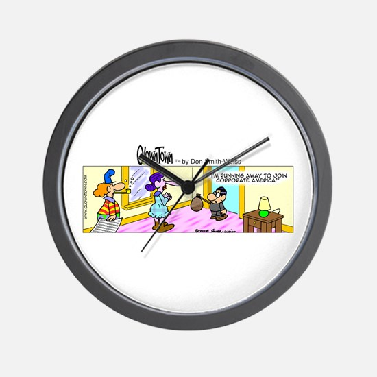 Cool Free run Wall Clock